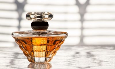 A bottle of cologne