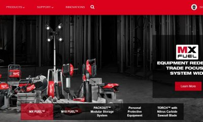 The Milwaukee Tools website