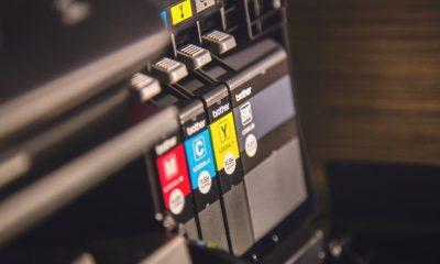 A printer ink cartridge