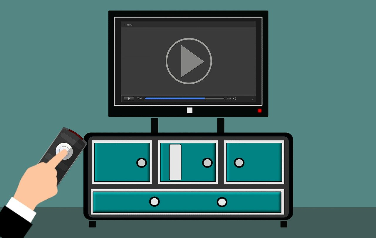 An illustration of a Smart TV