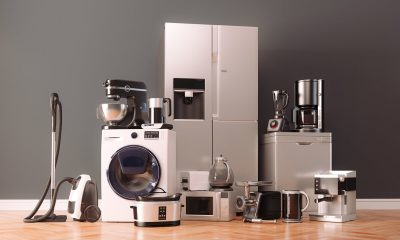 Lots of electric appliances